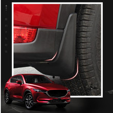 High quality Car styling accessories special fender mudflaps mud guard For Mazda CX-5 CX5 2017 2018(China)