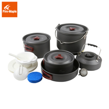 Fire Maple Hot Sale 6-7 Persons Cookware Picnic Set Be Cocina Outdoor Cutlery Team Pot Sets Panelas Camping Cooking Set FMC-212(China)