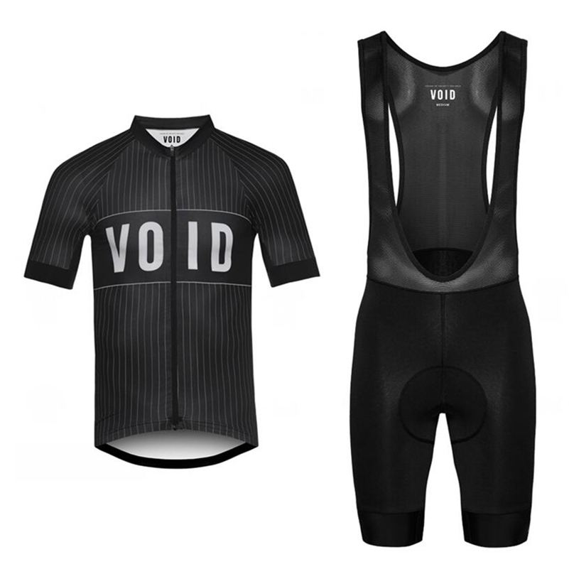New 2017 Summer cycling kits Classic black red shirt Team VOID short sleeve Jersey cycling Jersey and bib shorts ropa ciclismo <br>