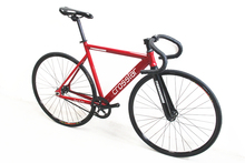 Crosstar Tyrans T2 Fixed Gear Bike Urban Track Bike Fixie Carbon Fiber Fork Commute Bike(China)