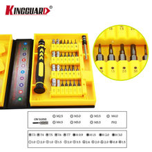 KINGGUARD 38 in 1 Precision Multipurpose Screwdriver Set Repair Tool Kit Fix For Cell Phone IPhone For Notebook Hand Tools