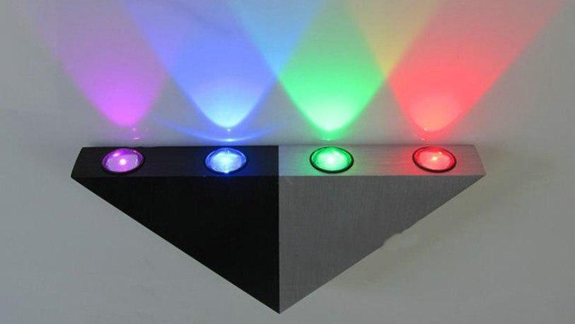85v ~ 265v 4W Creative lamp led lighting aluminum smallpox lamp porch corridor sitting room balcony engineering wall lamp ZZ12<br><br>Aliexpress