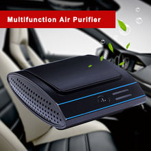 Car air purifier ionizer hepa filter price eliminate odor air filter car ionizer air purifier activated oxygen mi air purifier(China)