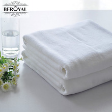 New 2017 White Towel-1pc Microfiber Bath Towel Compressed Hotel Travel Towel Plain Dyed Quick-Dry Spa Wrap 70*140cm Brand Towel