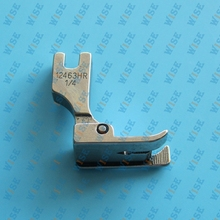 Hinged Right Raising Presser Foot With Guide for Top-Stitch #12463H important: choose you wanted size from product description.