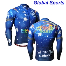 2017 Brand Design blue Bike Jacket Windprood Outdoor Sportswear Breathable Quick Dry Ropa Ciclismo Hombre Cycling Men Jacket