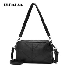 Fashion messenger Bags for women PU Leather flap bag Budalla High Quality and best brand(China)