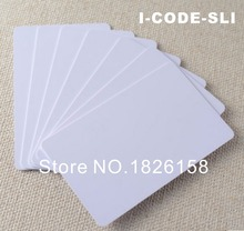 1000pcs ISO15693 I CODE 2 13.56MHz RFID IC card For Access Control System I-CODE 2 smart card(China)