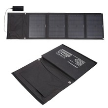 High Quality Folding Outdoor Portable Solar Panel 18V 40W Charging Sun Panel Board with 5V 2.1A USB Port For Mobile Phones