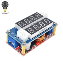 5A Adjustable Power CC/CV Step-down Charge Module WAVGAT LED Driver Voltmeter Ammeter Constant current constant voltage(China)
