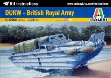 Out of print product! 1/35 ITALERI #6466 DUKW BRITISH ROYAL ARMY