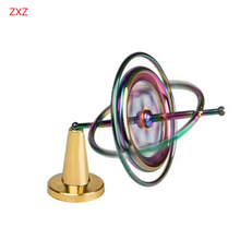 Metal gyroscope Random color toys for children Magic spinner gyro for traditional science educational learning balance EDC gift(China)