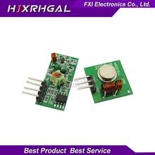 1Lot= 5 pair (10pcs) 433Mhz RF transmitter receiver Module link kit /ARM/MCU WL diy 433mhz wireless free shiping