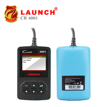 Launch OBDII/EOBD Scanner CReader 4001 Code Reader Automotive Diagnostic Tool for Free Update Query DTCs Car Maintenance Tool