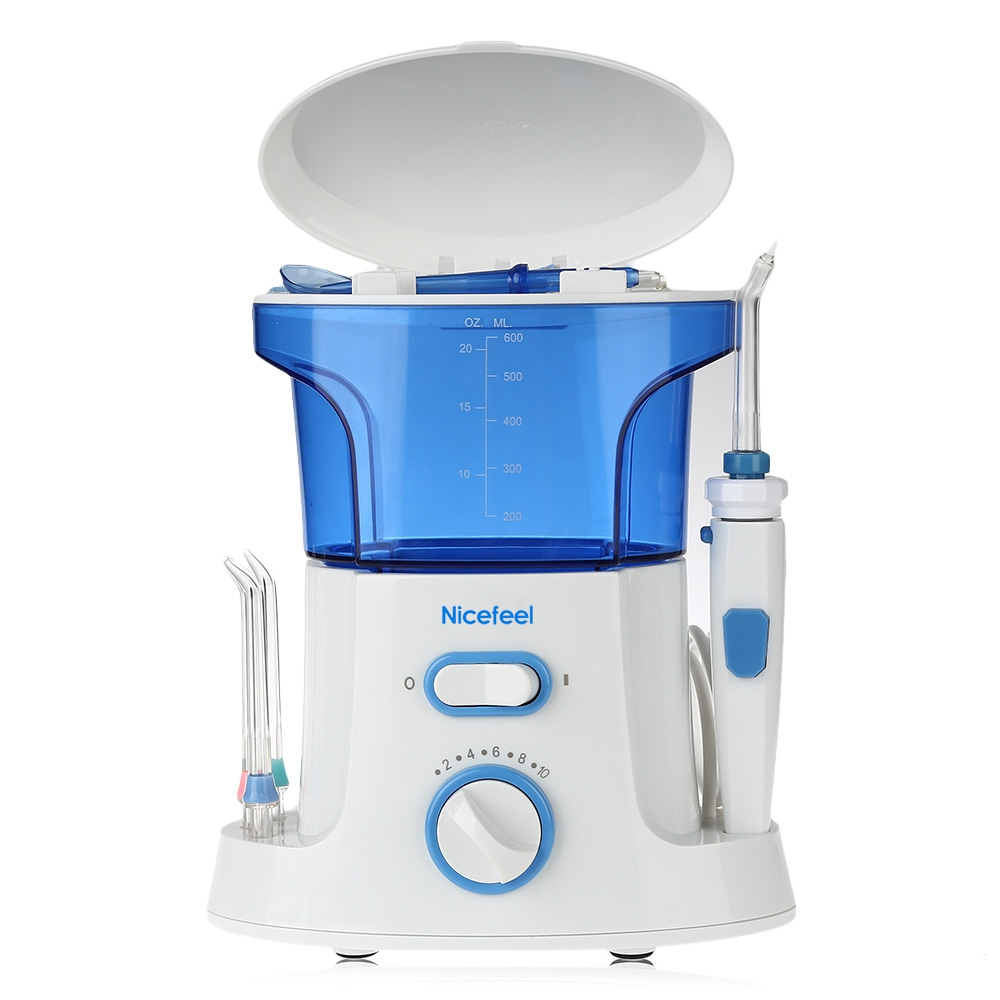 Family Pack Dental Care Dental Flosser Destroy Bacteria Power Water Jet Oral Hygiene Oral Care Irrigator Series With US Plug<br>