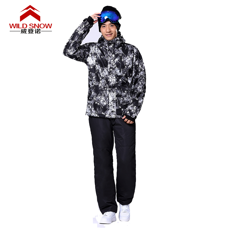 Brand Ski Suit Men Winter Warm Waterproof Skiing Suit Sets Outdoor Snow Jackets and Pants Snowboarding Ski Set Sportswear HXT04<br><br>Aliexpress
