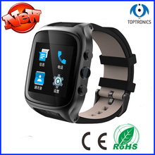"1.54"" screen MTK 6572 Dual core smart watch X01p with 1GB Ram 8GB Rom sim card Android 4.4 3G WIFI Camera GPS PK S99 kw88(China)"
