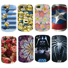 Case For Blackberry Q10 Cover Beautiful Design Original Plastic Printed Cartoon Phone Case Printing Drawin Fashion Phone Cases