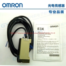 Free shipping OMRON photoelectric sensor amplifier E3X-A11 genuine low cost optical fiber(China)