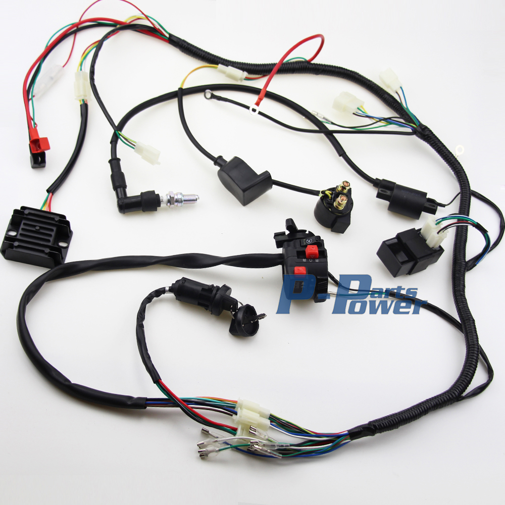 Get Of Quad 200cc In Moaltprngo Chinese 250cc Cdi Wiring Complete Electrics Atv Coil Harness Bike Gokart