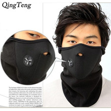 Winter Face Mask Neck Warmers Fleece Neoprene Face Mask Balaclava Motorcycle Cover Neck Scarf Half Face Mask