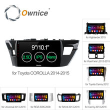 C500+ 8Core Car Radio DVD gps Android 6.0 For Toyota Universal 2007 2013 2015 2016 corolla RAV4 CAMRY Highlander VIOS YARiS REIZ(China)