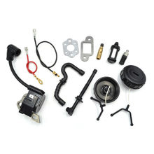 Ignition Coil with Line Fuel Oil Gas Filters with Hose Pipe Caps and Carburetor Gasket for Stihl Chainsaw Parts #1130 400 1302