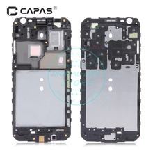 for Samsung Galaxy J3 J3109 Front Frame Bezel Housing Cover LCD Screen Supporting Frame Faceplate Replacement Repair Spare Parts(China)
