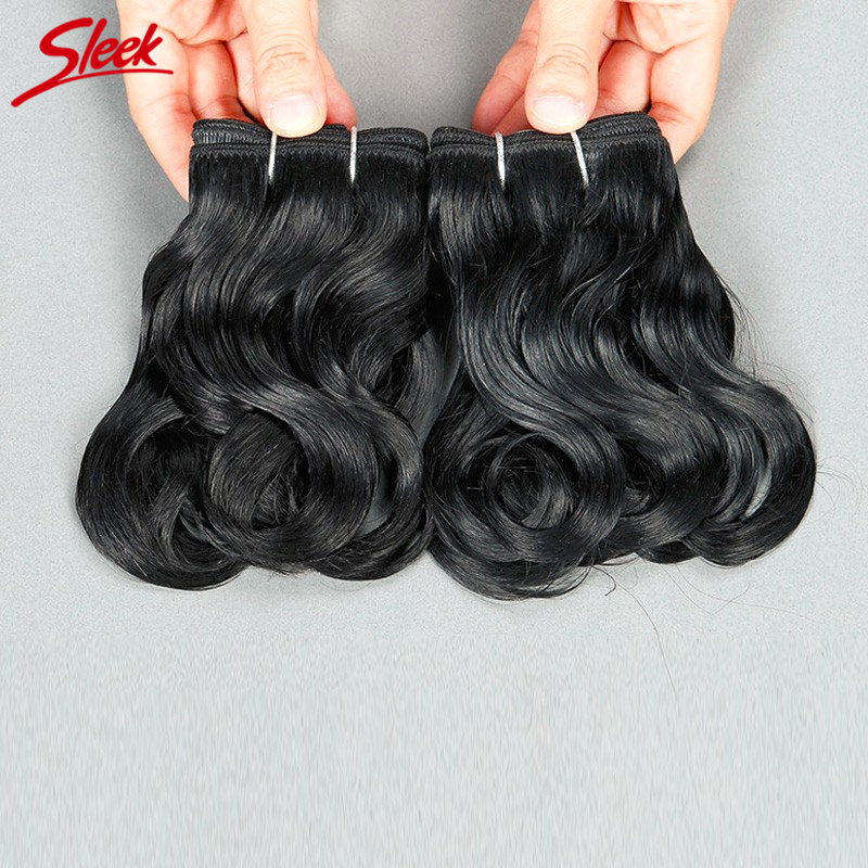 Sleek Full Head Set Brazilian Human Hair Weaving 9A Natural Wave 100g/set Brazilian Virgin Hair No Shedding No Tangle<br><br>Aliexpress