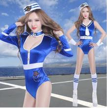 New Ballet dance bar by ds costumes navy uniforms temptation nightclub party led dance studio photo service