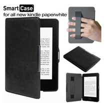 ST case for Amazon all new kindle paperwhite 6'' ereader handholder cover +screen protector