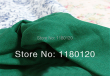 fancy solid green ramie linen cotton clothing material natural garments linen fabric 50*140cm sold by half a meter