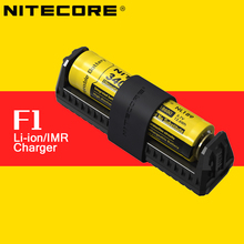 2016 New Original Nitecore F1 5V 1A USB Intelligent Finger Lithium Battery Charger Outdoor Power Bank for 18650 10440 14500