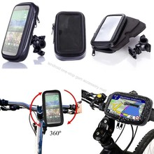 Bicycle Bike Motorcycle Phone Holder Waterproof Case Cover Bag Handlebar Mount Stand Bracket Mobile Phone Smartphone Accessory