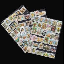 [Free shipping] Limited Edition! No repeat! 100 pieces/bag fungus postage stamp mushrooms postage stamp collections RARE unusual