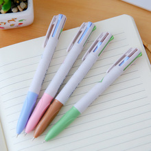1 Pcs Cute Kawaii 0.5mm Ball Point Ballpoint Multi Colors Tool Pens For Writing Office Accessories Stationery School Supplies