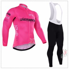 TOUR DE ITALY ropa ciclismo 2016 Long Sleeve cycling Bicycle jersey mtb bike maillot mountain Bicicleta cycling clothing set