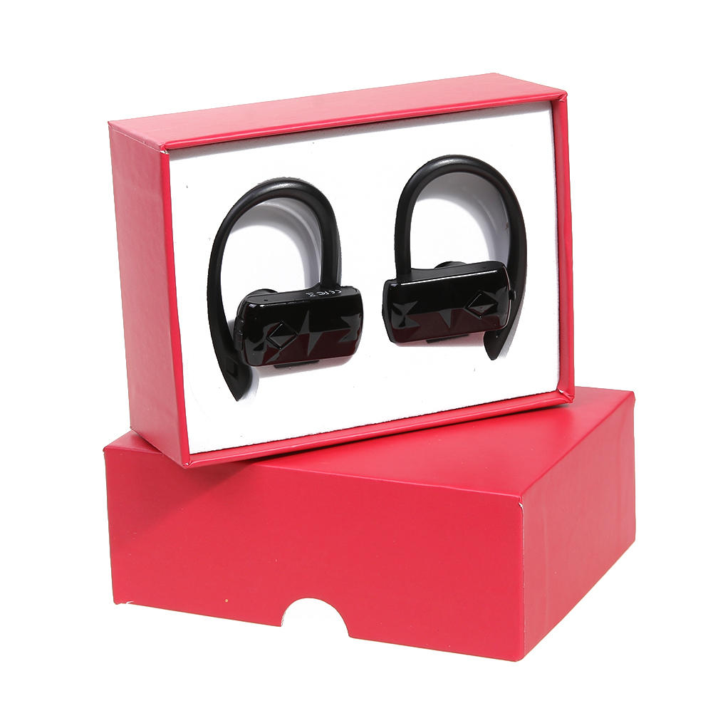 New Binaural Wireless Earphone HiFi Bluetooth V4.1 Stereo Earphone Earbud TWS noise reduction Smart sports Headset earpiece