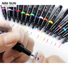 Buy 16 Colors Colorful Cheap Nail Art Pen Nail Tools UV Gel Polish Nail Pens 3D Nail Art DIY Decoration for $23.28 in AliExpress store