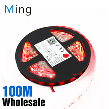 Wholesale LED Strip 5050 Light Single Color Strips 5 Meters 300 SMD5050 DC 12V For Home Office Decor(China)