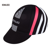 KEMALOCE wholesale Top Fresh Dutch Black Headset De Rosa Racing Cross Bike Cap Cycling Hats(China)