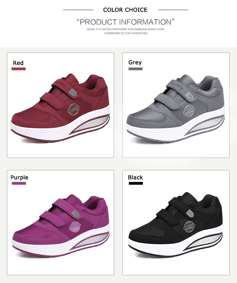 Women Comfortable Swing Platform Shoes Mother Breathable Mesh Shoe Zapatos  De Mujer 2018 Fitness Sport Sneakers Sapatos Mulher USD 123.69 piece 0bf5f45b8366