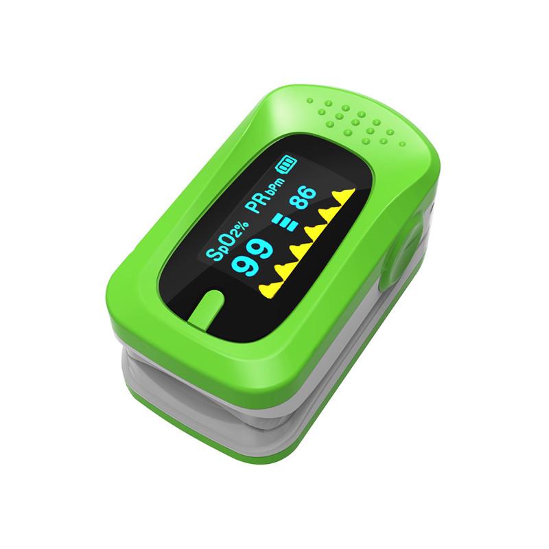 Portable Finger Pulse Oximeter Digital Blood Oxygen Pressure Meters Device Medical Equipment Household Health Monitors 12