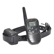 Ipets 998DB-1 Dog Trainer Shock Electric Dog Collar with 100LV of Shock and Vibration Dog Shock Collar(China)