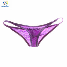 Buy 2017 Sexy Men Underwear Brave Person Briefs Men Low Rise U convex Pouch Brief Underwear Men Stretch Breathable Briefs Cueca Gay