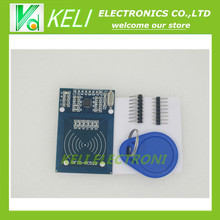 Free Shipping  1PCS/LOT  RFID module RC522  Kits S50 13.56 Mhz 6cm With Tags SPI Write & Read for arduino uno 2560