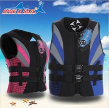 Professional Adult lifejacket sponge,Womens Life Vest Premium Neoprene with Diving fabric