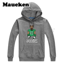 Men Hoodies 2018 philadelphia Champions Super LII Bowl 52 Underdog Sweatshirts Thick for Eagles fans Autumn Winter W18020113(China)