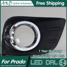 AKD Car Styling for Toyota Prado LED DRL Taiwan Design Prado LED Daytime Running Light Fog Light Parking Accessories