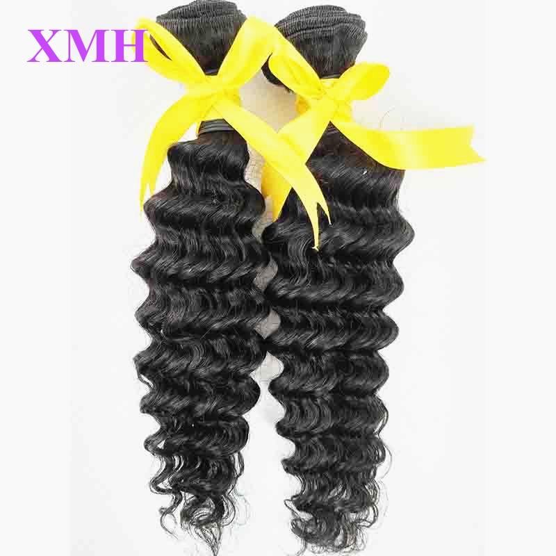 Varishow Hair Products Peruvian Human Hair Deep Wave Peruvian Virgin Hair Top Quality 10-30Inch 2 Bundles Human Hair Weaving<br><br>Aliexpress